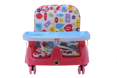 INTRA Kid's Height Adjustable Royal Booster Seat with Wheels