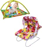 Mofaro Multicolor Carry Cot Cum Bouncer ...