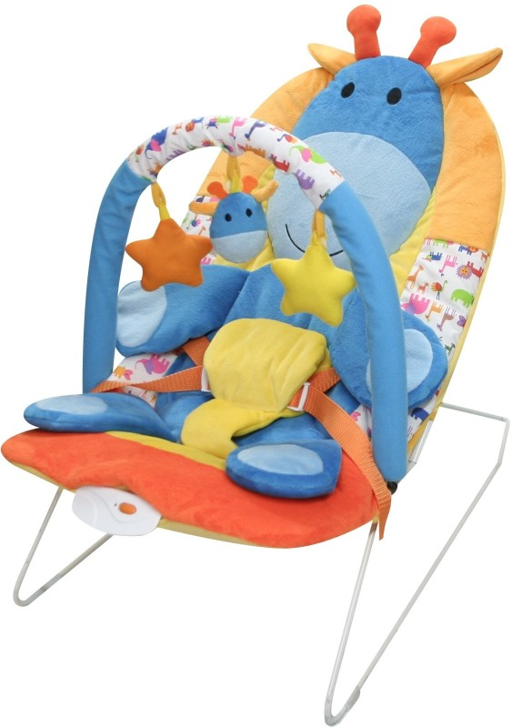 Sunbaby Safari Party Giraffe Baby Bouncer_SB-YY-112(Multicolor)