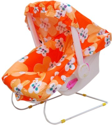 Brats N Angels Orange Carry Cot swing