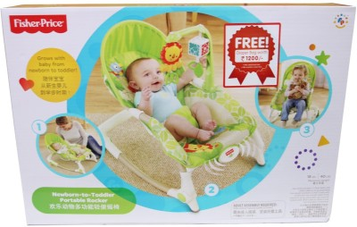 Fisher-Price New Born To Toddler Portable Rocker