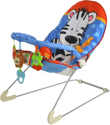 Toyhouse Baby Bouncer with Vibration and Music(Multicolor)