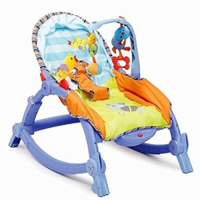 Smiles Creation Newborn to Toddler Portable Baby Rocker