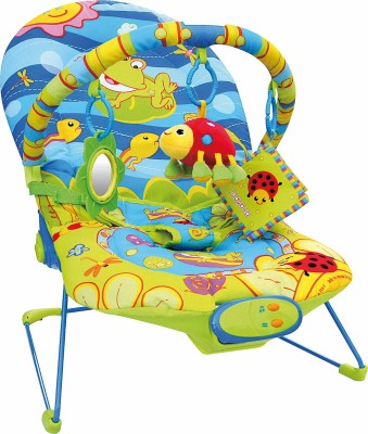 Happy Kids Baby Bouncer - Flora and Fauna