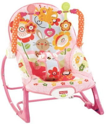 Fisher-Price nfant To Toddler Rocker, Bunny(Pink)