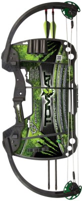 Adraxx Barnett Tomcat Compound Bow(Black, Green)