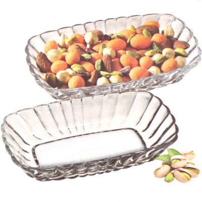 Pasabahce Glass Bowl Set(Clear, Pack of 2)