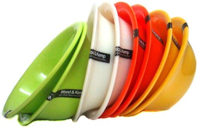 Wood & Kemp korelle multicolor 8pcs Melamine Bowl Set