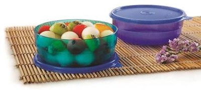 Tupperware Polypropylene Bowl Set(Green, Blue, Pack of 2)