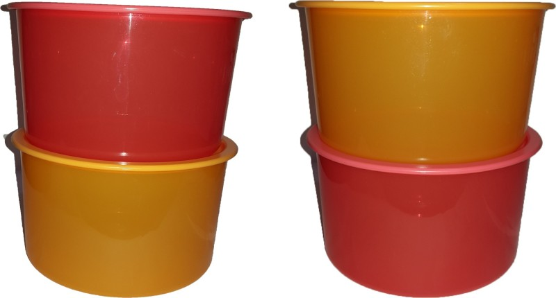 Tupperware Plastic Disposable Bowl Set(Multicolor, Pack of 4)