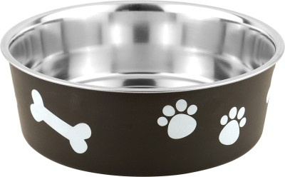 Bella Bowls Stainless Steel Bowl(Black, Pack of 1)