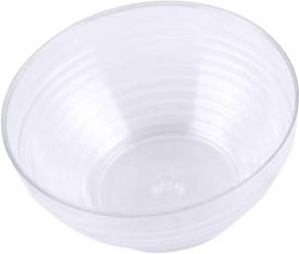 BuyersChowk 100 ml designer dessert Plastic Disposable Bowl(Clear, Pack of 75)