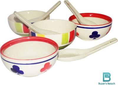 Buyer's Beach Ceramic Bowl Set(Multicolor) at flipkart
