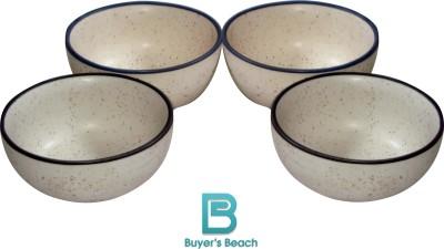 Buyer's Beach Marble Bowl Set(White, Pack of 4) at flipkart