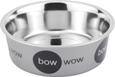 Bella Bowls Stainless Steel Bowl(Grey, Pack of 1)