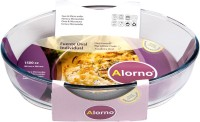 Alorno Microwave & Oven Safe Oval Roaster Baking Dish - 1.5 Ltr Borosilicate Glass Bowl(Clear, Pack of 1) best price on Flipkart @ Rs. 579