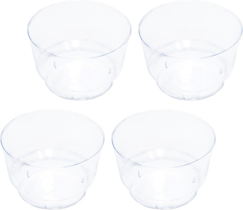 CLASSY Disposable Mousse Cup 100 ML (set of 25) Plastic Disposable Bowl(Clear, Pack of 1)