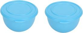 Winsky kitchen classic Plastic, Steel Bowl Set(Blue, Pack of 2)