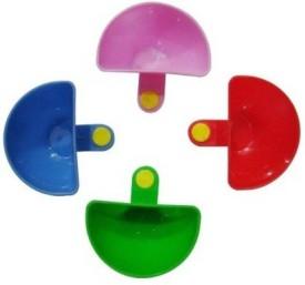 Trisha Plastic Disposable Bowl Set(Multicolor, Pack of 4)