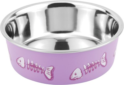 Bella Bowls Stainless Steel Bowl(Purple, Pack of 1)