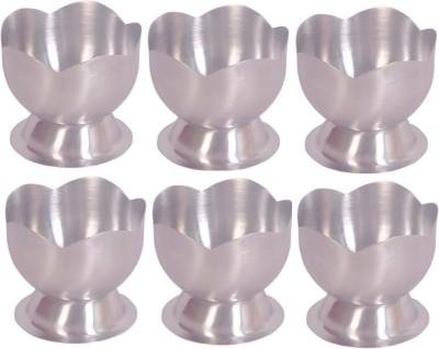 Dynore Lotus cup Stainless Steel Bowl Set(Steel, Pack of 6) at flipkart