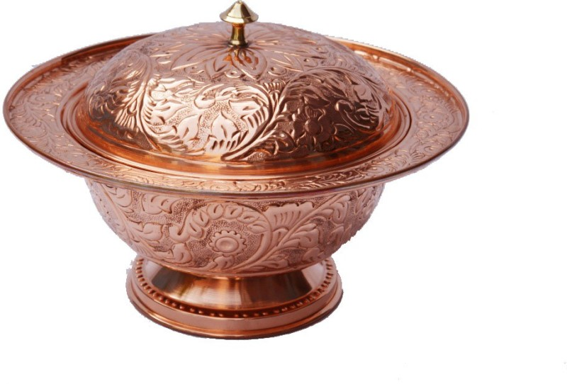 Veda Home & Lifestyle Copper Bowl(Brown, Pack of 1)
