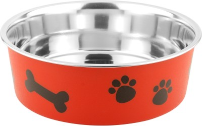 Bella Bowls Stainless Steel Bowl(Red, Pack of 1)