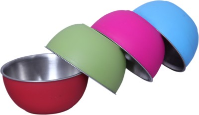Liefde Stainless Steel Bowl Set(Multicolor, Pack of 4) at flipkart