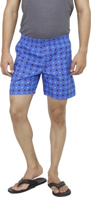 Wineberry Style Star Printed Men's Boxer
