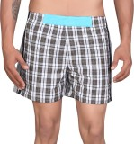 LUCfashion Checkered Men's Boxer (Pack o...