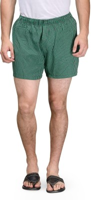 Being Fab Checkered Men's Boxer