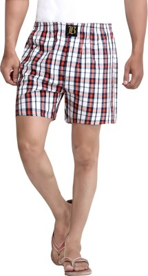 London Bee Checkered Men's Boxer