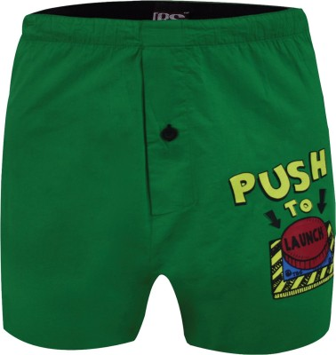 The Boxer Store Launch Green Printed Men's Boxer