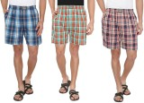 7thStreet Checkered Men's Boxer (Pack of...