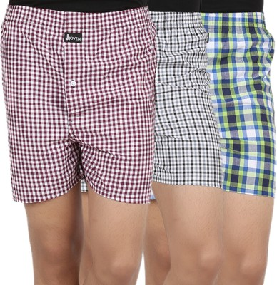 Joven ML-4 Checkered Mens Boxer