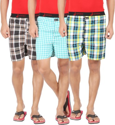 Joven ML-12 Checkered Mens Boxer