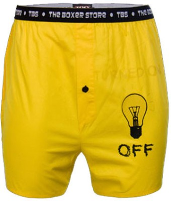 The Boxer Store Glow In The Dark Solid Men's Boxer