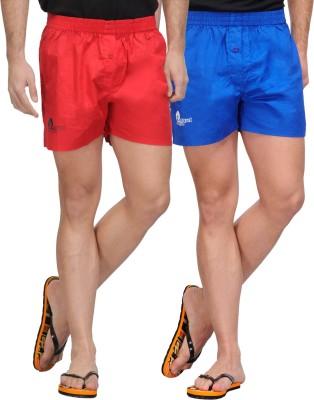 Happy Hippie Plain Boxers Solid Men's Boxer