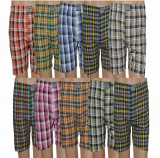 Lyril Checkered Men's Boxer (Pack of 10)