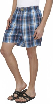 7thStreet Checkered Mens Boxer
