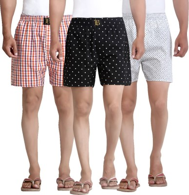 London Bee Multi Color Printed Men's Boxer