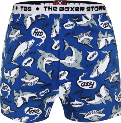 The Boxer Store Crazy Shark Printed Men's Boxer