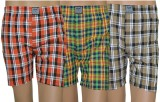 Lyril Checkered Men's Boxer (Pack of 3)