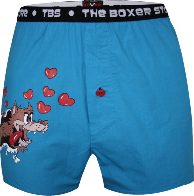 The Boxer Store Wolf Design Printed Men's Boxer