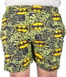American-Elm Bat Printed Men's Boxer (Pa...