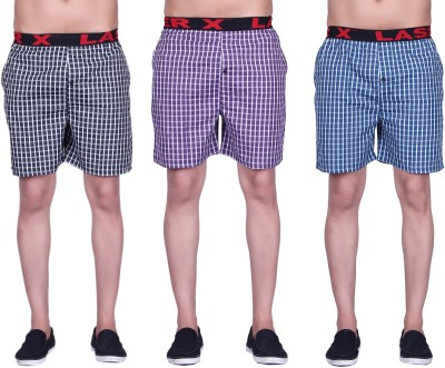 Laser X SuperB Checkered Mens Boxer