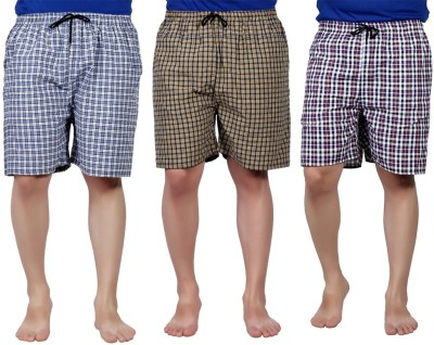 PSK Checkered Mens Boxer