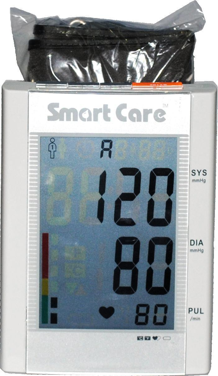 Smart Care LD7 Blood Pressure Monitor Bp Monitor(White)