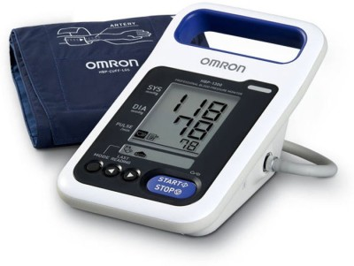 Omron HBP 1300 HBP 1300 Bp Monitor(White) at flipkart