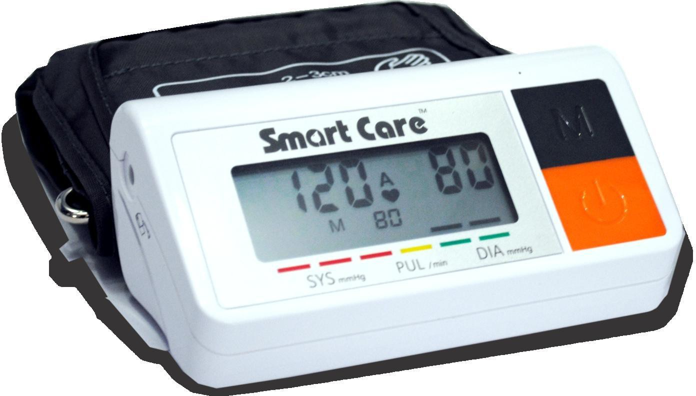 Smart Care LD 535 Blood Pressure Monitor Bp Monitor(White, Orange)
